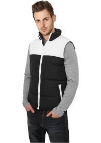 Urban Classics TB346 2-Tone Bubble Vest Black/White