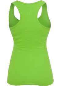 Urban Classics TB452 Ladies Button Tanktop Limegreen