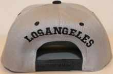 American Live Snapback Cap L.A. Grey/Black/Color