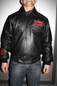 Picaldi Reloaded Lederjacke schwarz/rot Limited Edition