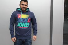 Jack&Jones Calvin Sweat Navy Blue