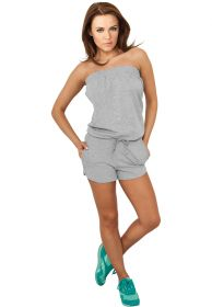 Urban Classics TB734 Ladies Jumpsuit grey