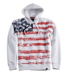 Alpha Industries Flag Hoody 168313/09 white