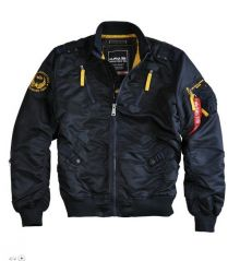 Alpha Industries Falcon II Jacke 156109 repl. blue