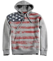 Alpha Industries Flag Hoody 168313/17 grey heather