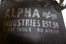 Alpha Industries Cargo Oxford Utility Bag 101917/03 black