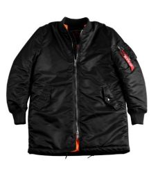 Alpha Industries MA-1 Coat black 168104