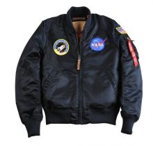 Alpha Industries MA-1 Nasa wmn repl.-blue