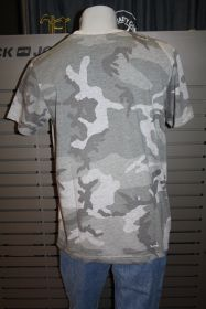 Alpha Industries T-Shirt BLURRED T camo grey 186504