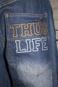 Thug Life Jeans TL-DS09-071 dark blue