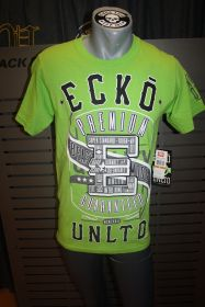 ECKO UNLTD PROVEN CHAMPS TEE lime green