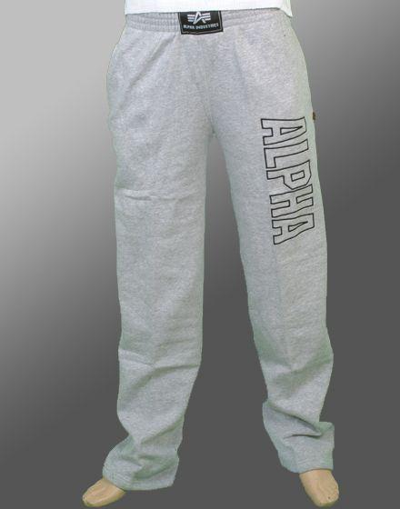 alpha industries track pant 181209 grau grey jogginghose. Black Bedroom Furniture Sets. Home Design Ideas